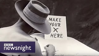 1945 remembered, and the rise and fall of the Labour Party - BBC Newsnight