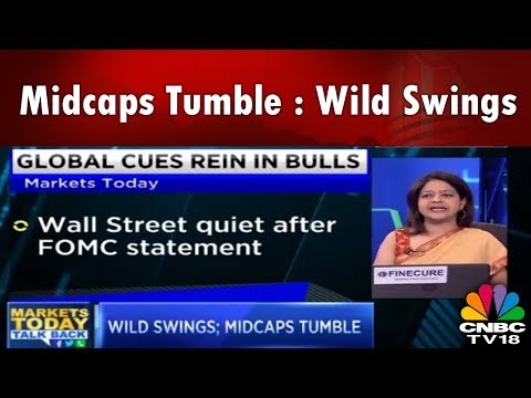 Wild Swings; Midcaps Tumble | HCC, Indigo & Jet Airways End with Deep Cuts | Markets Today Talk Back