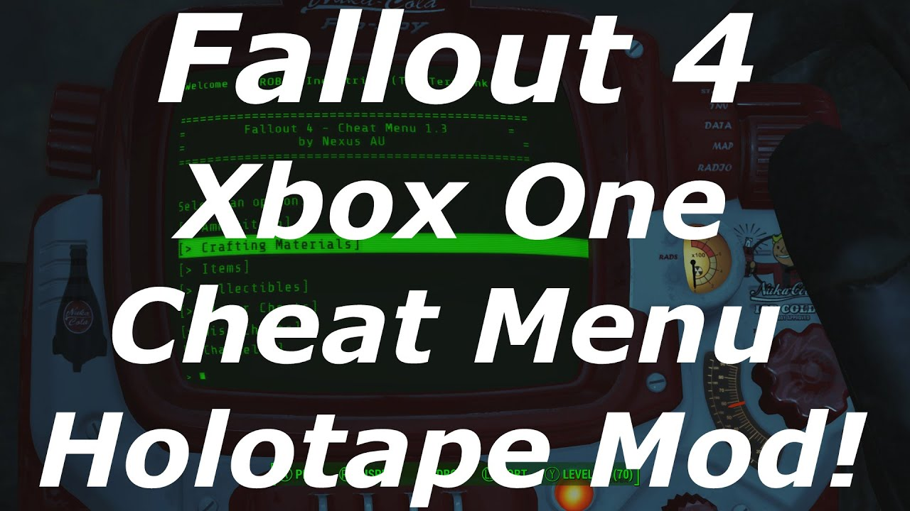 how to create mod for fallout 4 xbox one