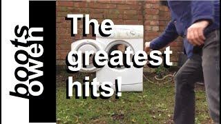 20 washing machines destroyed