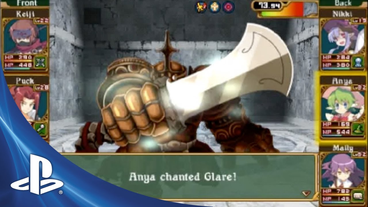 Class of Heroes II on PSP