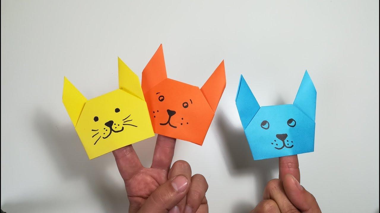 Como Hacer Marionetas De Dedo Con Papel Youtube