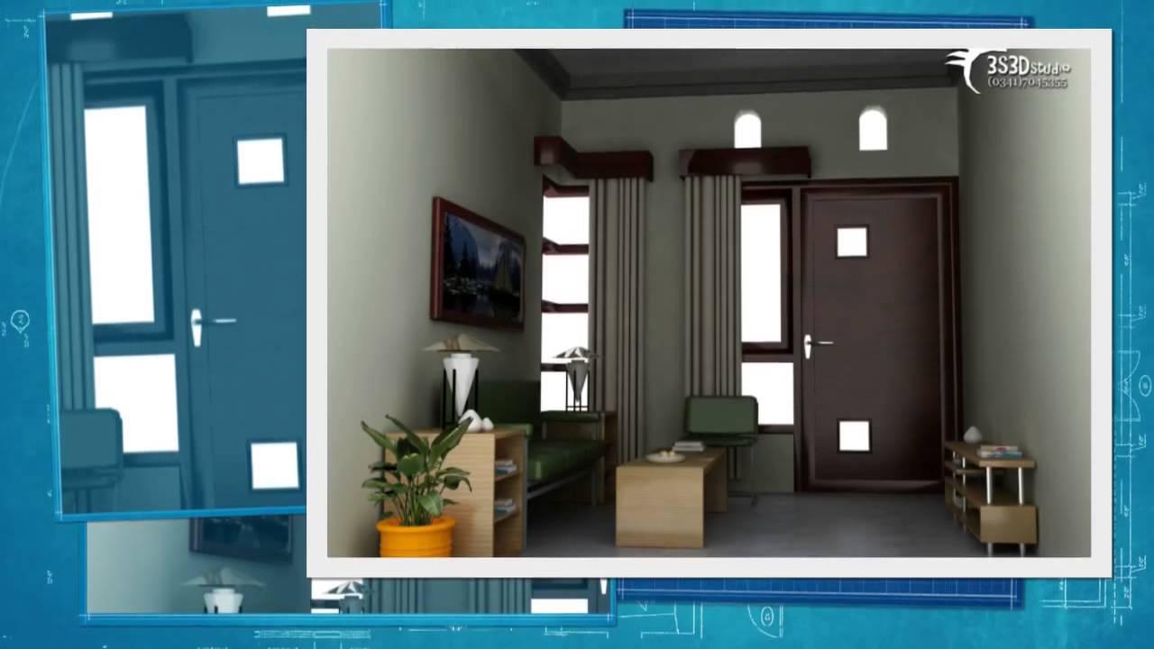 Desain Interior Ruang Tamu Minimalis 2014 - YouTube