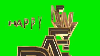 happy new year 2020 green screen 4k happy new year green happy new year 2020