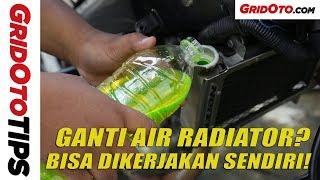 Cara Mengganti Air Radiator di Motor | How To | GridOto Tips