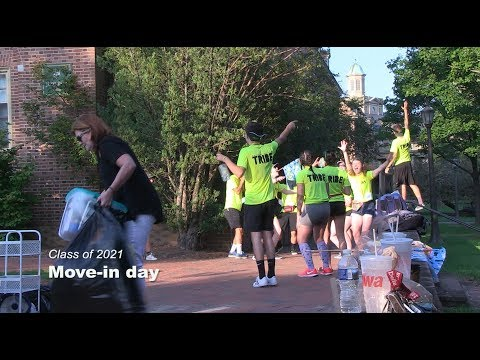 Class of 2021: Move-in day
