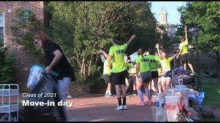 Class of 2021: Move-in day thumbnail