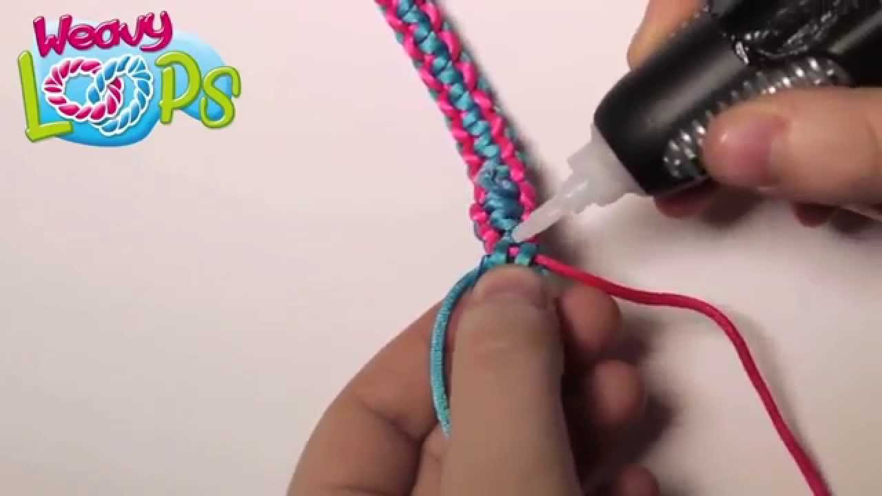 Weavy Loops Tutorial 1 Zweifarbiges Armband Werbevideo 2015
