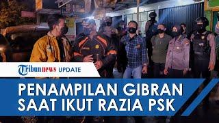 Gaya Wali Kota Solo Gibran Rakabuming saat Ikut Razia PSK, Pakai Setelan Kaus Sidak di Tengah Hujan