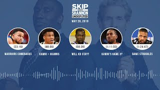 UNDISPUTED Audio Podcast (5.20.19) with Skip Bayless, Shannon Sharpe & Jenny Taft   UNDISPUTED