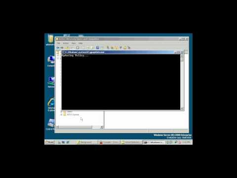 Group Policy (Part 1 of 4) - Basic Settings and Auditing