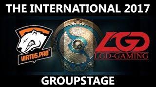 VP vs LGD GAME 2, The International 2017, LGD vs VP