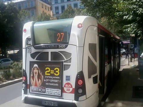 Sound bus heuliez bus gx 137 n 3420 du r seau tcl lyon - Lyon to geneva bus ...