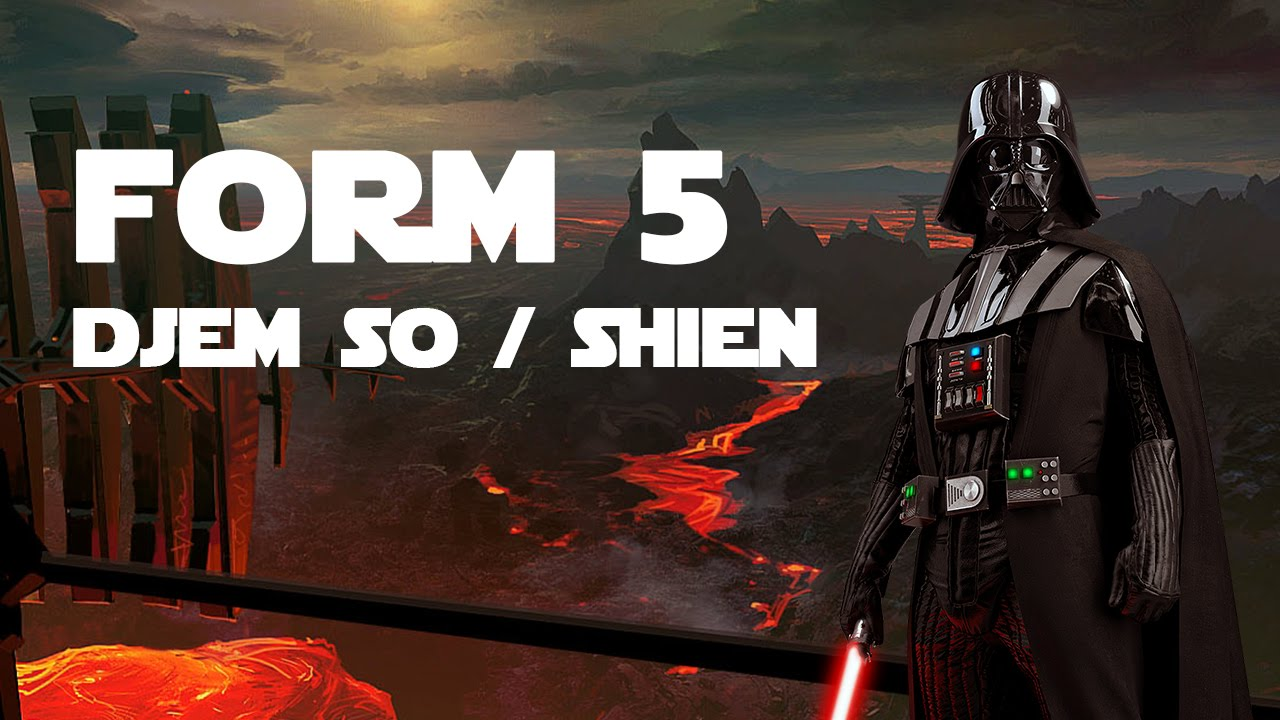 Djem So/Shien (Form 5 Lightsaber Combat) - YouTube