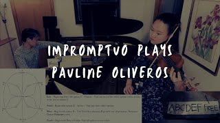 "Impromptuo Plays Pauline Oliveros ""Magnetic Trails"""