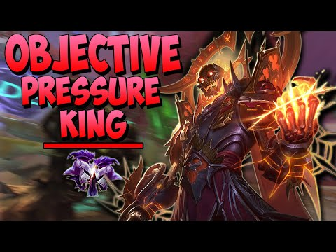 OLORUN BUFF MAKES HIM THE OBJECTIVE PRESSURE KING! - Masters Ranked Duel - SMITE