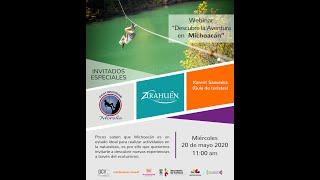 "Webinar ""Aventura en Michoacán"""