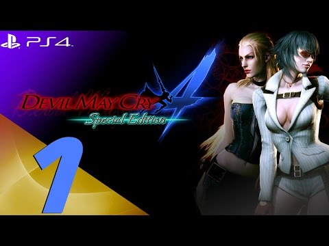 Devil May Cry 4 Special Edition - Lady & Trish Walkthrough Part 1 - Prologue & Berial [1080p 60fps]