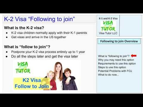 K2 Visa – Follow to Join « Visa Tutor
