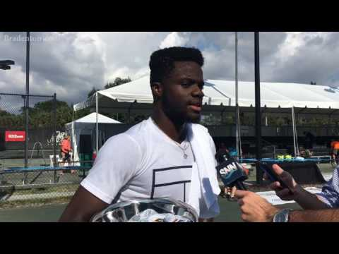 Sarasota Open champion Frances Tiafoe wants to inspire through tennis