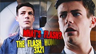 the flash 3x21 | what's flash? [HUMOR]