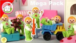 Playmobil Mega Pack Zwillingsgeschichten mit Paul und Alex - Spielzeug Kinderfilm Familie Hauser