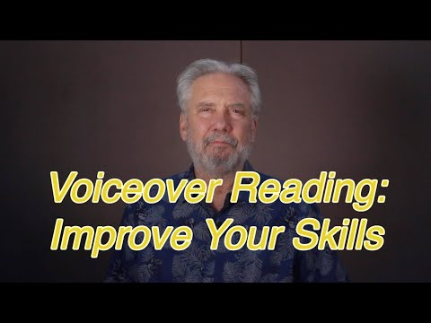 Voice Over Reading-Improve Your Skills