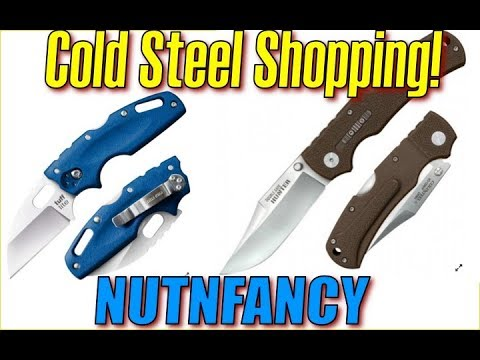 Cold Steel Shopping with Nutnfancy