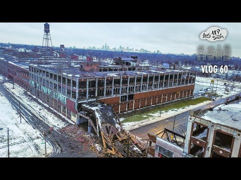 Packard Plant Detroit- Abandoned | Demolition | Bridge Collapse