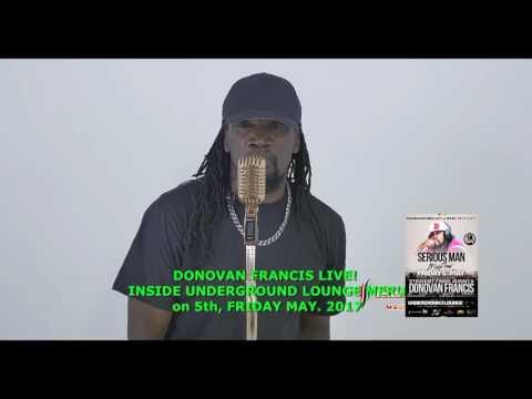 Donovan Francis Meru promo