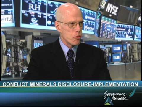 Conflict Minerals Disclosure Part 2 - Implementation