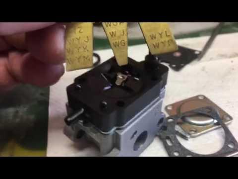 2 cycle carburetor- metering lever adjustment