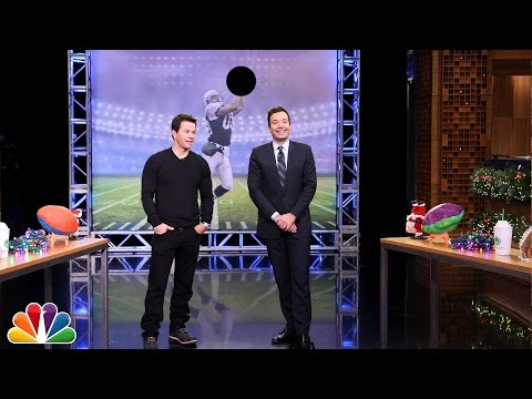 Random Object Football Toss with Mark Wahlberg