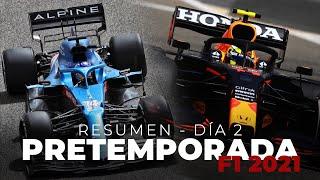 Resumen Día 2 - Pretemporada F1 2021 | Efeuno