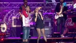 MARIA ILIEVA & ATANAS KOLEV - WANNA BE THE BEST - Live at Coca-Cola Happy Energy Tour 2014 Sofia