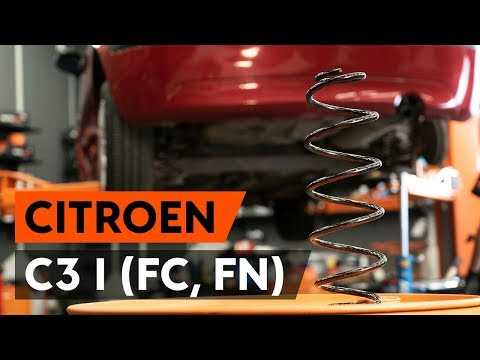 Как заменить пружины задней подвескиCITROEN C3 1 (FC, FN) [ВИДЕОУРОК AUTODOC]