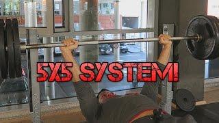 5x5 SYSTEM | GUT oder SCHLECHT für MUSKEL & KRAFTAUFBAU??