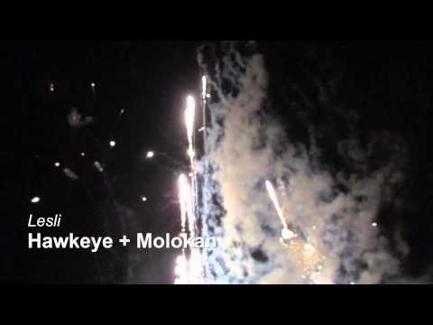 Lesli Molokan und Hawkeye