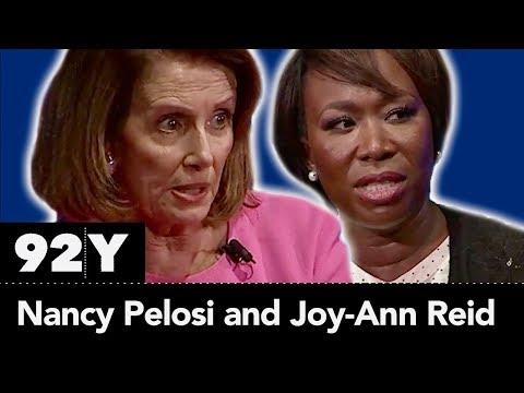 House Democratic Leader Nancy Pelosi with Joy-Ann Reid