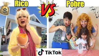 RICO VS POBRE FAZENDO TIK TOK #3 - Família Rica VS Família Pobre