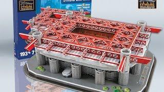 """Estadio San Siro / Giuseppe Meazza"" | Nanostad - Puzzle 3D"