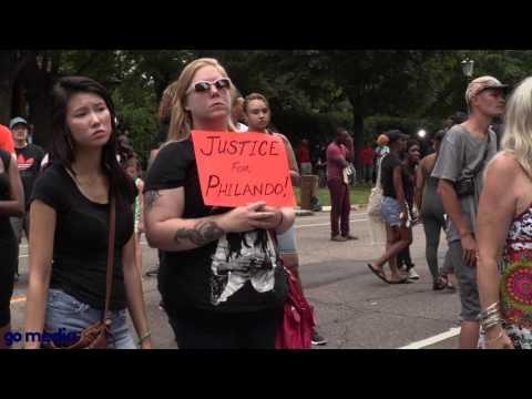 Protesters demand justice in Philando Castile shooting