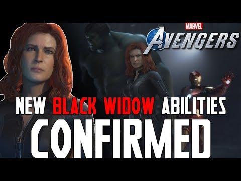 NEW BLACK WIDOW ABILITIES CONFIRMED !!!  - Marvel's Avengers ( NEW Information CONFIRMED )