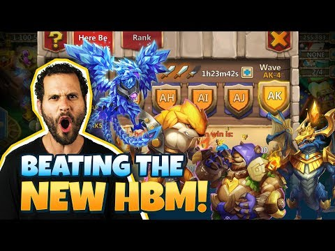 HBM AK Set Up For TOP TIME! Insanity Castle Clash