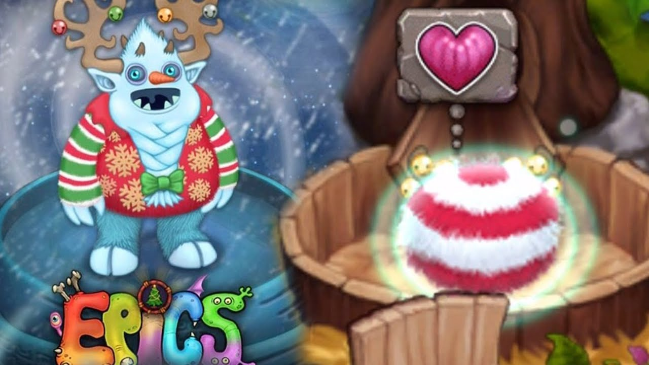 epic yool  snowman santa  how to breed one
