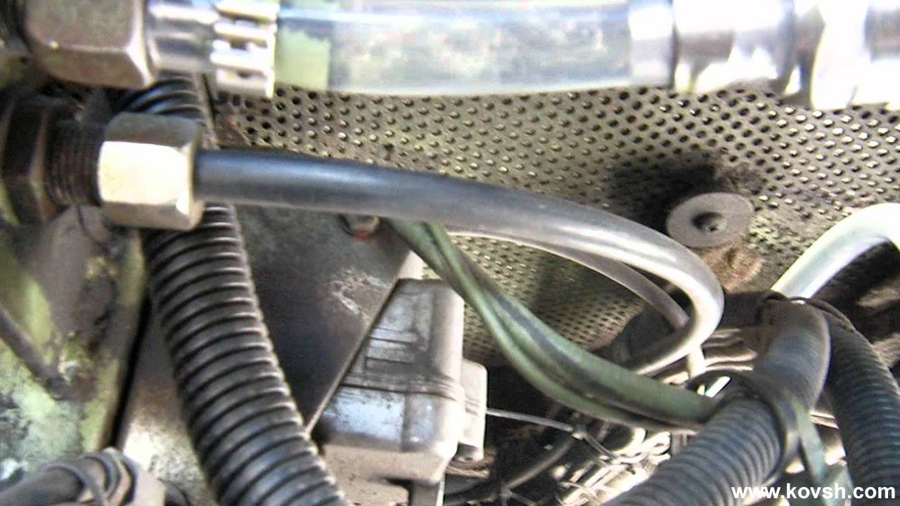 неисправен электромагнитный клапан mazda 6 дизель