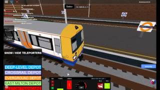 Train Simulator V2(Roblox) Stamford Central-Langford town