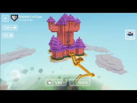 Block Craft 3D: Building Simulator Games For Free Gameplay #715 (iOS & Android) | Sky 🌌 Castle 🏰