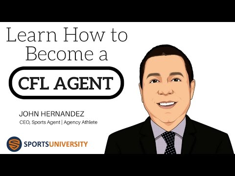 Learn How to Become a CFL Sports Agent