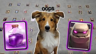 My Puppy Made My Deck in Clash Royale